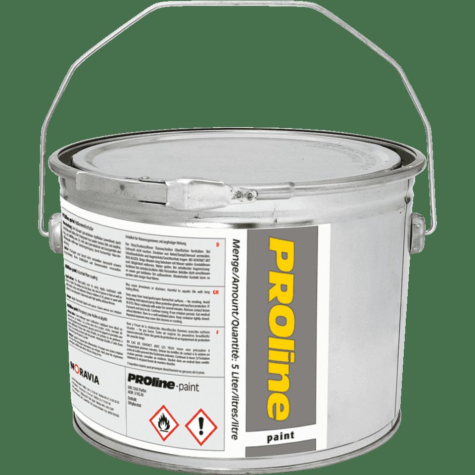 proline paint hallenfarbe gelb ral 1003 5 l. Black Bedroom Furniture Sets. Home Design Ideas