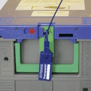 Siegel Sicherheitsverschluss RoHS-konform rot VOID-Folie Ø 30mm 18//Bogen