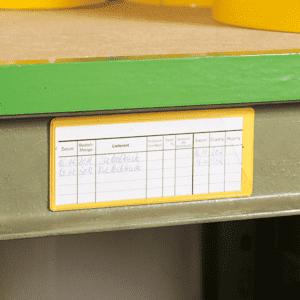 20 Stück magnetische Etikettenhalter Coroset 97X30mm
