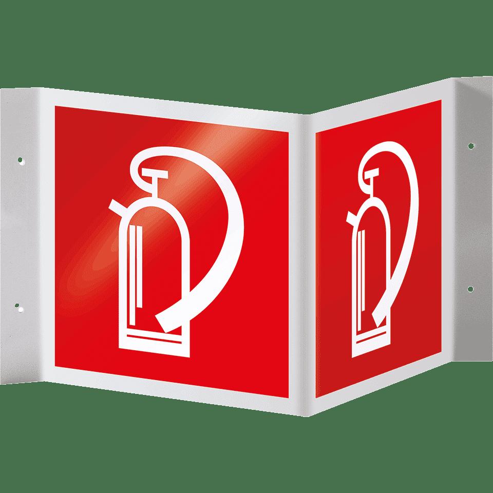 brandschutz nasenschild feuerl scher kaufen. Black Bedroom Furniture Sets. Home Design Ideas