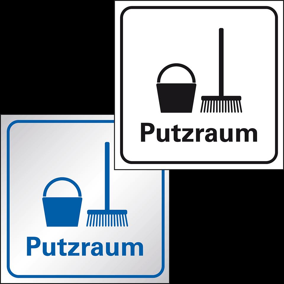 putzraum standard piktogramm online bestellen. Black Bedroom Furniture Sets. Home Design Ideas