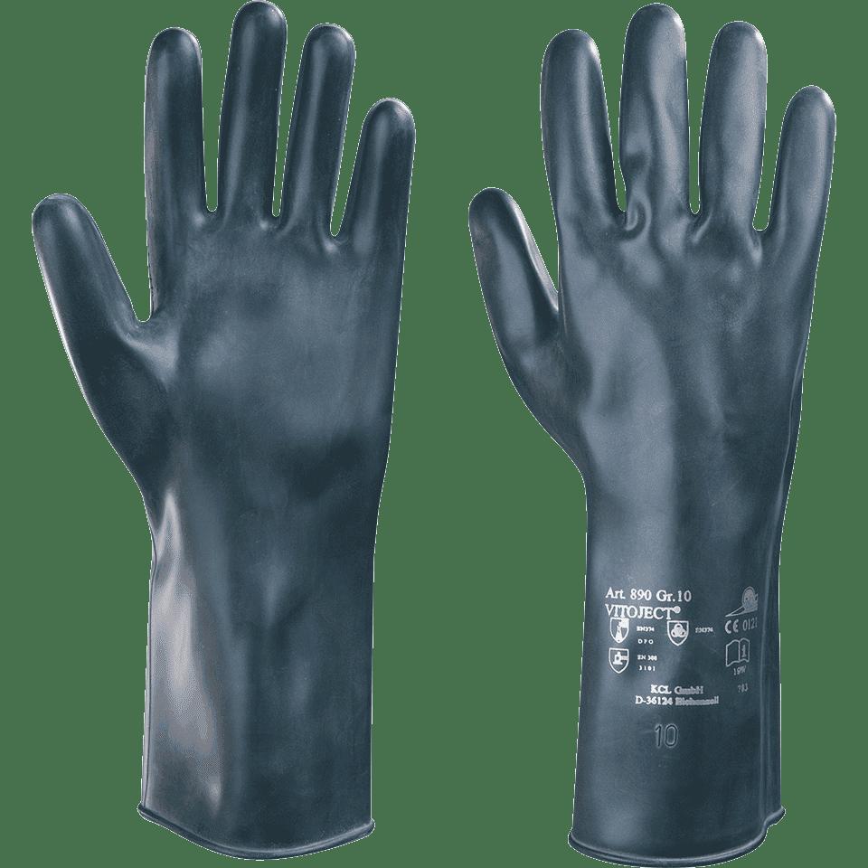 Honeywell KCL Handschuh Vitoject 890 350 mm Gr.10 schwarz +BESTPREIS++