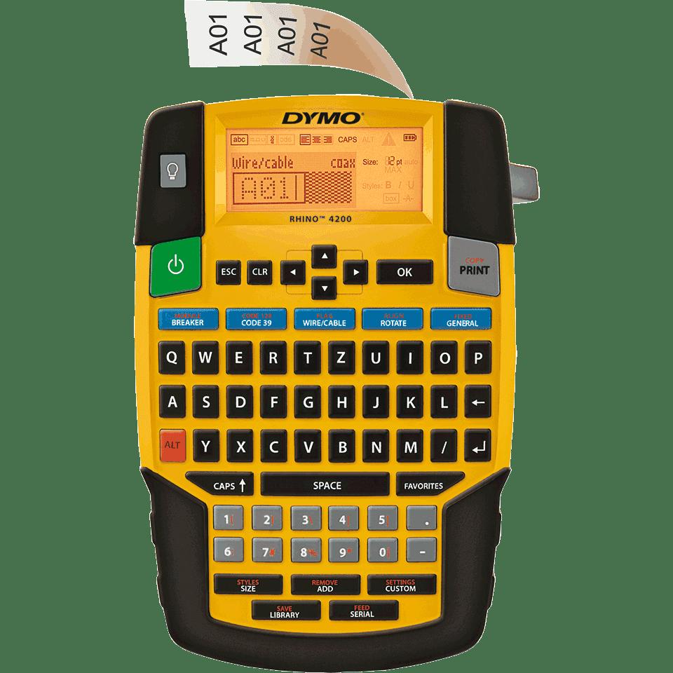 rhino 6000 label maker manual