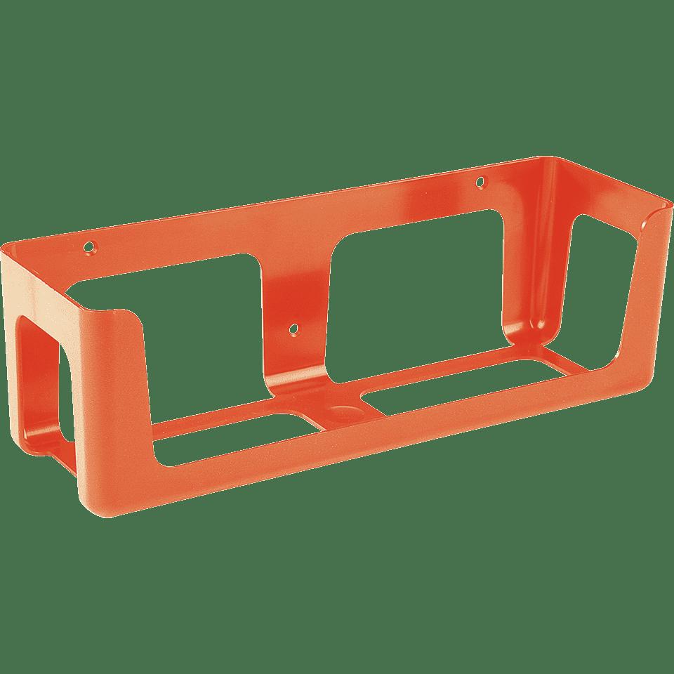 wandhalterung f r s hngen orange kunststoff 270x80x90mm. Black Bedroom Furniture Sets. Home Design Ideas