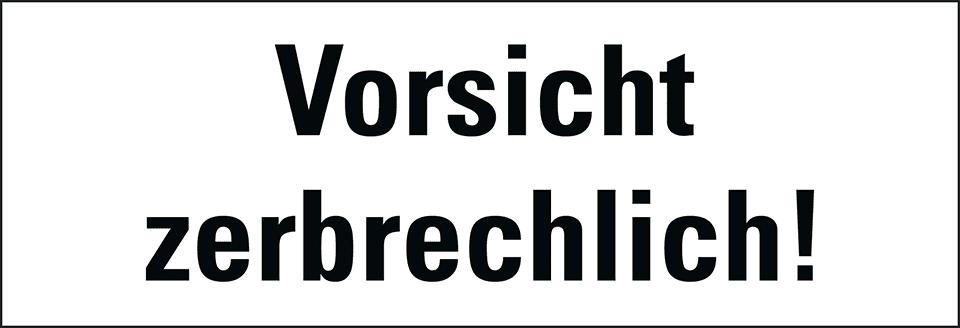 Hinweisetikett Vorsicht Perm170x60mm250rolle Kroschkecom