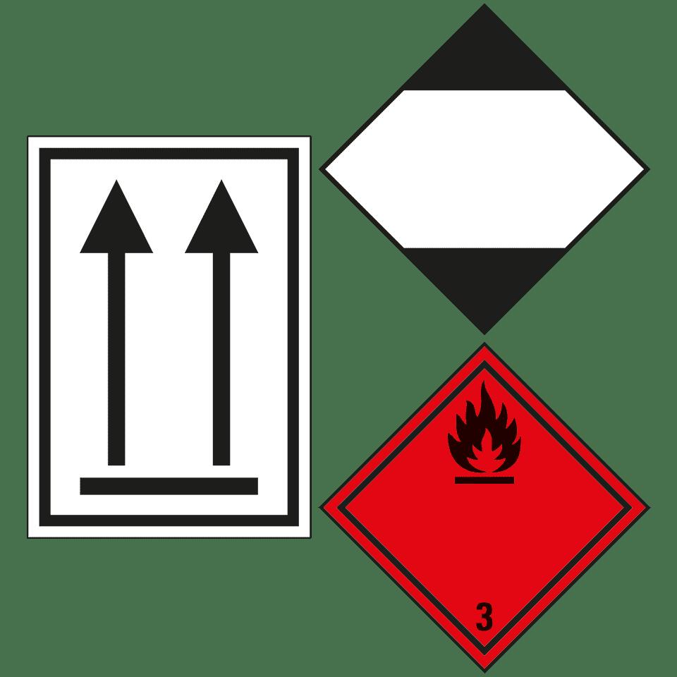 Gefahrgutaufkleber Verpackungskennzeichen Kroschkecom