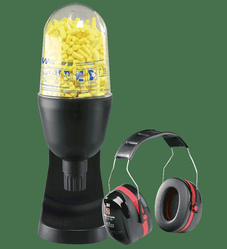 2 Paar = 4 Stück UVEX Com4Fit Ohrstöpsel Neu Gehörschutz